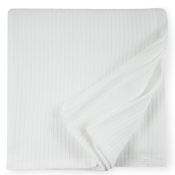 Sferra Grant White Twin Blanket - 80X100
