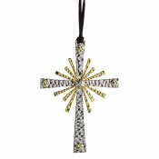 Michael Aram Forged Cross Ornament