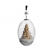 Michael Aram Tree Egg Snow Globe Ornament