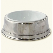 MATCH Pewter Pet Bowl - Large