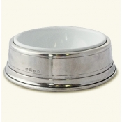 Match Pewter Pet Bowl - Small