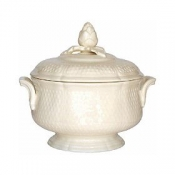 Pont Aux Choux Cream Covered Vegetable / Soup Tureen