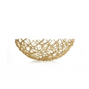 Michael Aram Thatch  Bowl Gold - Extra Small