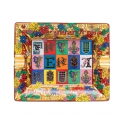 Versace Christmas Holiday Alphabet Ashtray - 6.25""