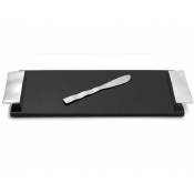 Michael Aram Ripple Effect Small Cheese Board w/ Knife