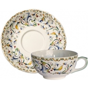 Toscana Set of 2 Breakfast Cups and Saucer