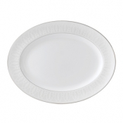 Ballet Icing Pearl Oval Platter - 15.25""