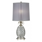 Waterford Hospitality Table Lamp / Polished Nickle - 26""