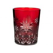 Waterford Snowflake Wishes Joy Ruby Doble Old Fashion