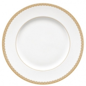 Lismore Lace Gold Dinner Plate*