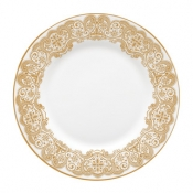 Lismore Lace Gold Salad Plate*