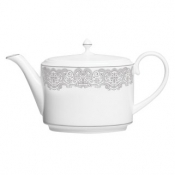Lismore Lace Platinum Beverage Pot