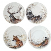 Dessert Plates - Assorted Set 4
