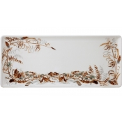 Oblong Serving Tray Foliage