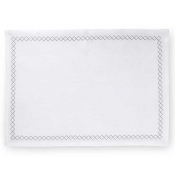 Sferra Perry Set of 4 Placemats - White & Grey
