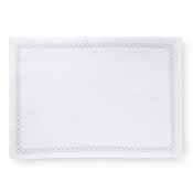 Sferra Perry Set of 4 Placemats -  White & Poolside