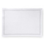 Sferra Perry Set of 4 Placemats - White & Putty