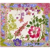 Millefleurs Square Plate