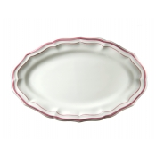 Filet Rose Oval Platter