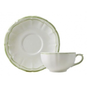 Filets Vert Breakfast Cup and Saucer