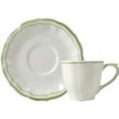 Filets Vert Tea Saucer ( Only)