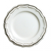 Filets Taupe Dessert Plate
