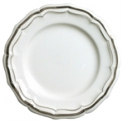 Filets Taupe Dinner Plate
