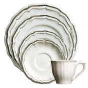 Filets Taupe 5 Piece Placesetting