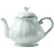 Filets Taupe Teapot