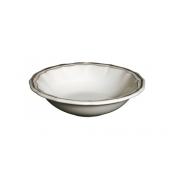 Filets Taupe Cereal Bowl