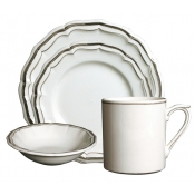 Filets Taupe 4 Piece Placesetting