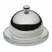 Feeling Individual Glass Butter Dish & Cover