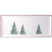 Filets Noel Oblong Serving Tray