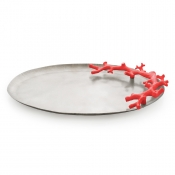 Michael Aram Ocean Reef Large Platter - Red