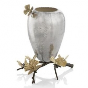 Michael Aram Butterfly Ginkgo Vase - Medium