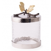 Michael Aram Butterfly Gingko Canister - Ex Small