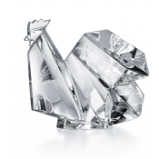 Baccarat Crystal Origami Rooster