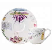 Provence Espresso Cup and Saucer