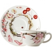 Bouquet Breakfast Cup & Saucer