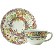 Bagatelle Tea Cups & Saucers / Set 2