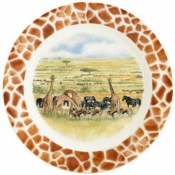 Safari Bottle Coasters - Set of 2