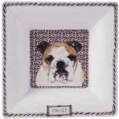 Darling Dog Large Square Candy Tray