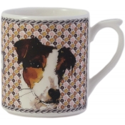 Gien Darling Dog Mug / Clovis/Myrtille - 10 oz