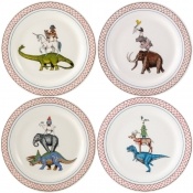 Lucien Canape Plates - Assorted - Set 4