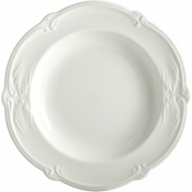 Rocaille White Rim Soup Bowl