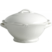 Rocaille White Covered Vegetable Bowl