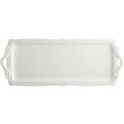 Rocaille White Oblong Serving Tray
