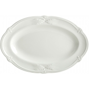 Rocaille White Pickle Dish