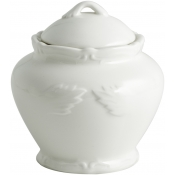 Rocaille White Sugar Bowl