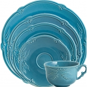 Rocaille Bleu Givre 5 Pc. Setting